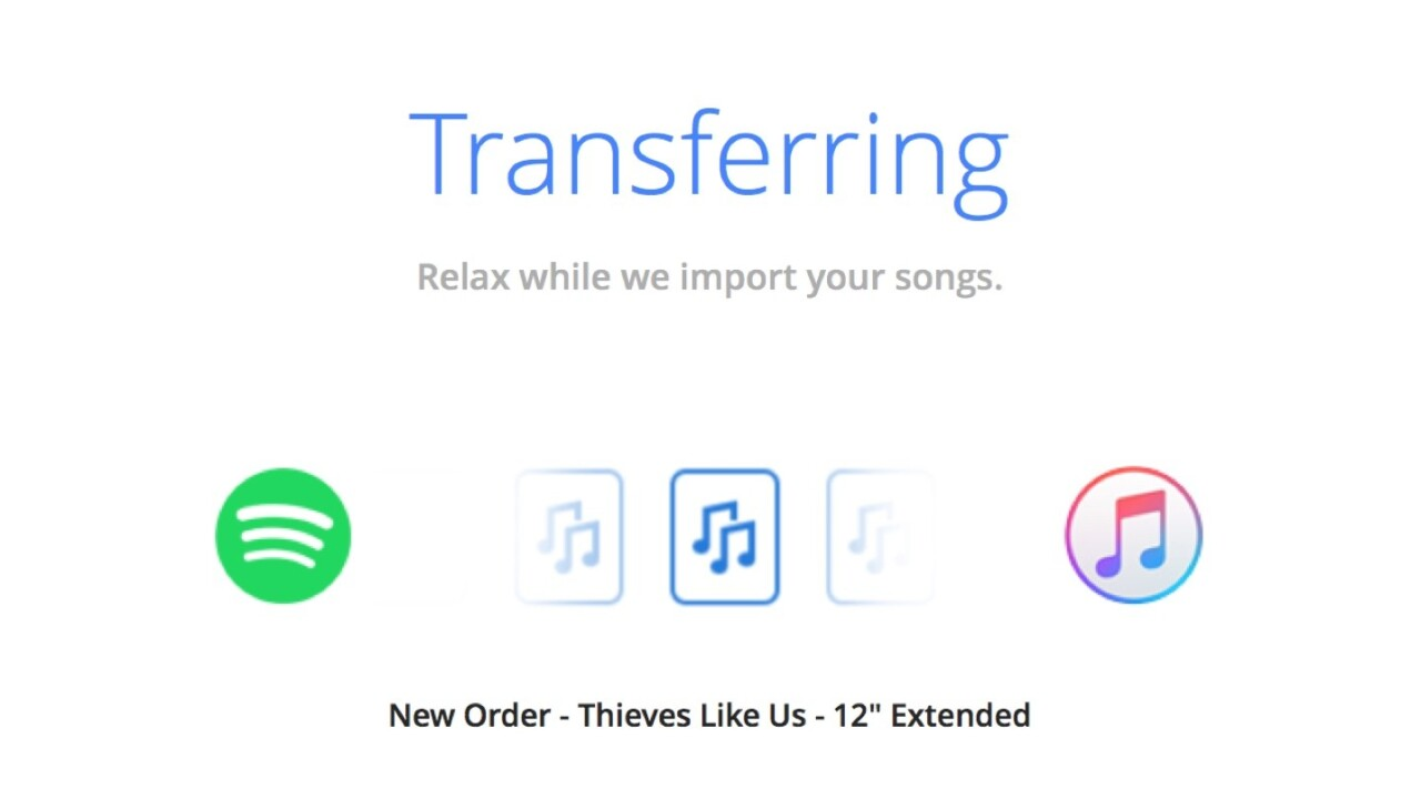 This app makes it easy to move playlists from Spotify to Apple Music
