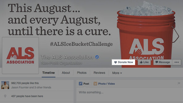 Facebook adds 'Donate Now' button to make giving to charity easier