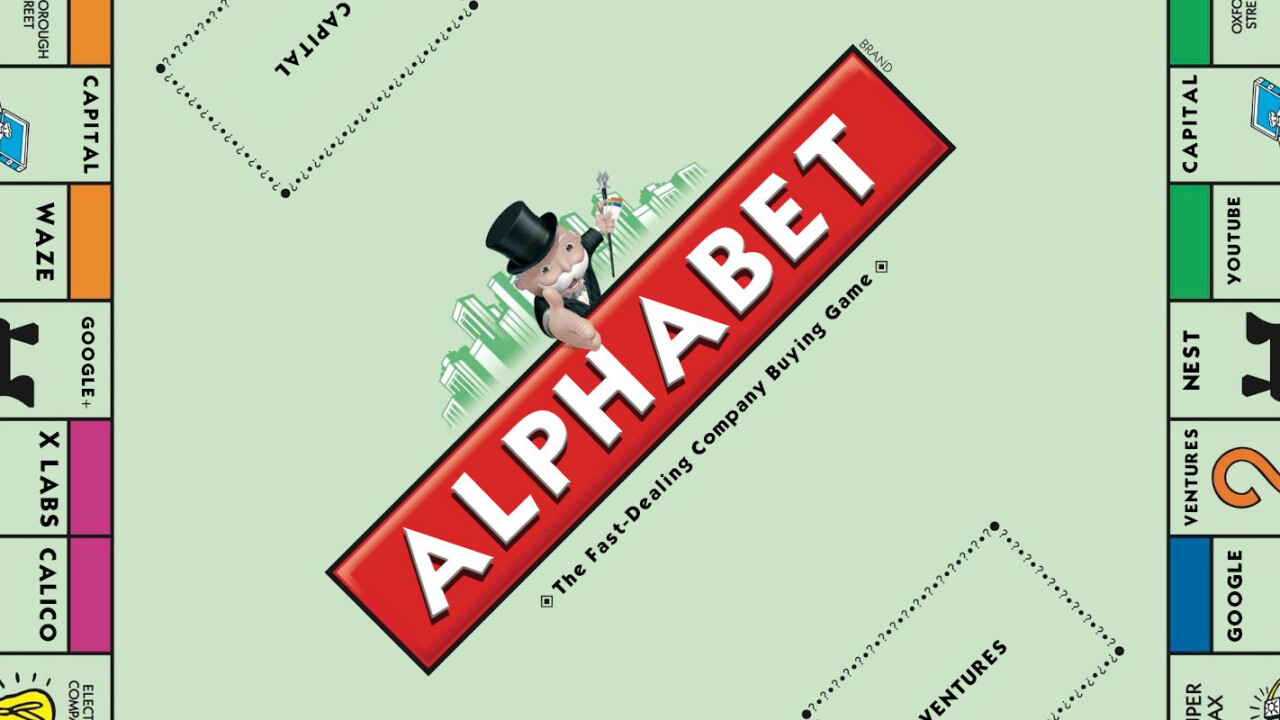 Away from Google, Alphabet can acquire whatever it wants