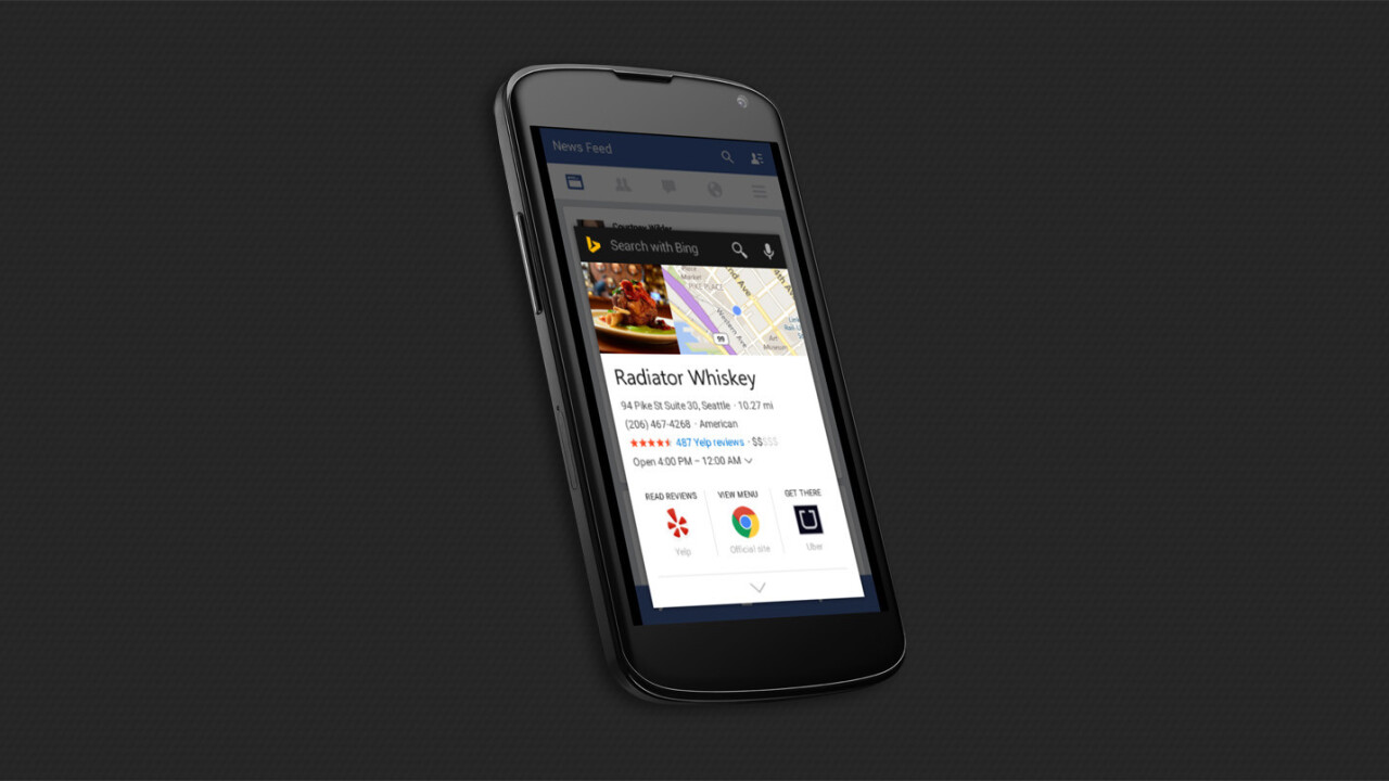 Bing for Android just beat Google Now on Tap to the punch