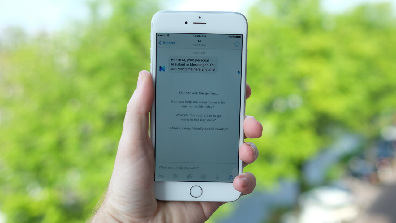 Here's what it's like to use Facebook's virtual assistant, 'M'