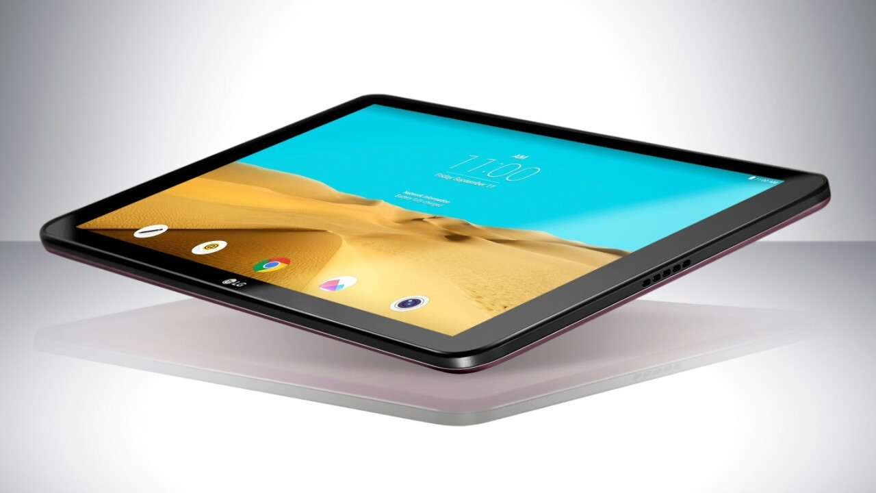 LG is betting on battery life to win the tablet war