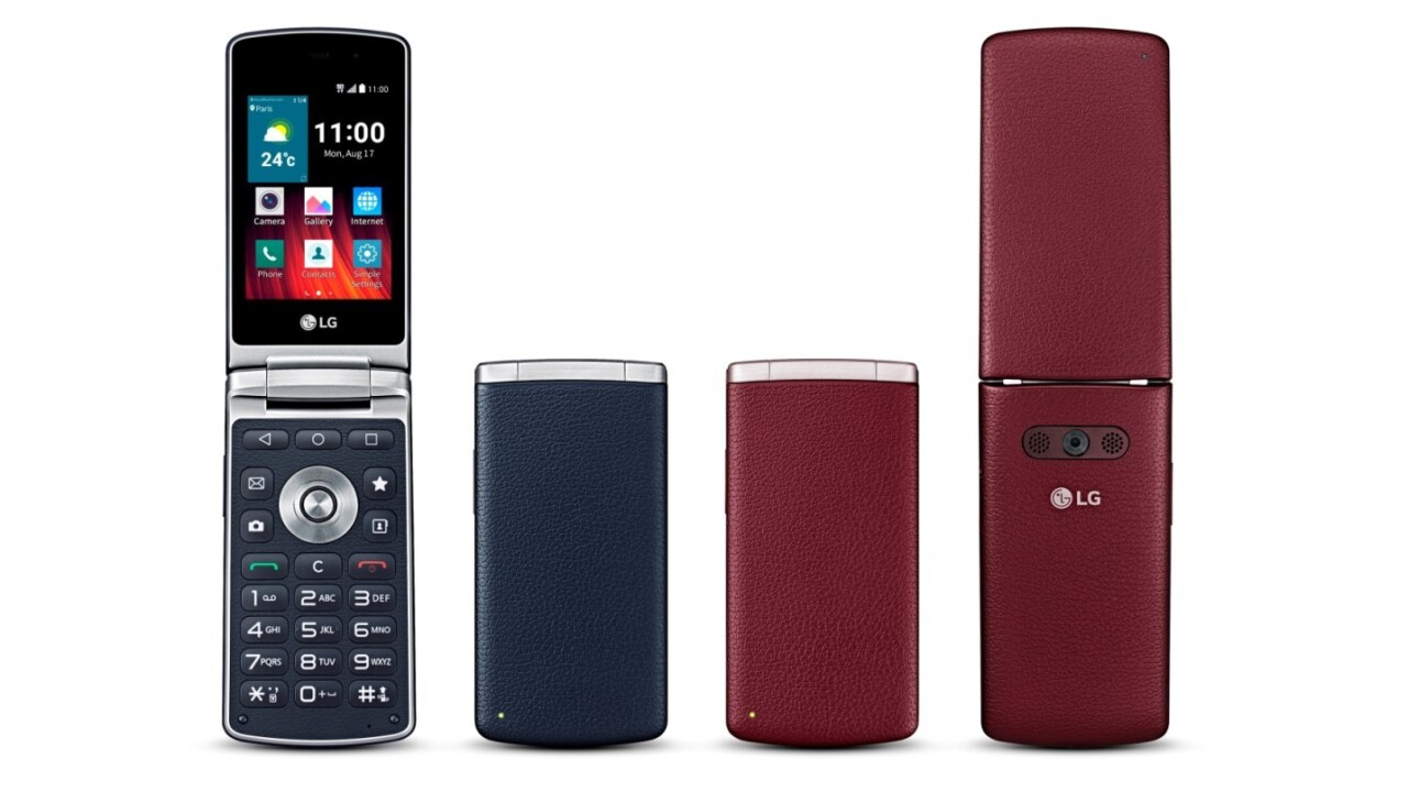 LG's Android Lollipop flip-phone brings back the 90s