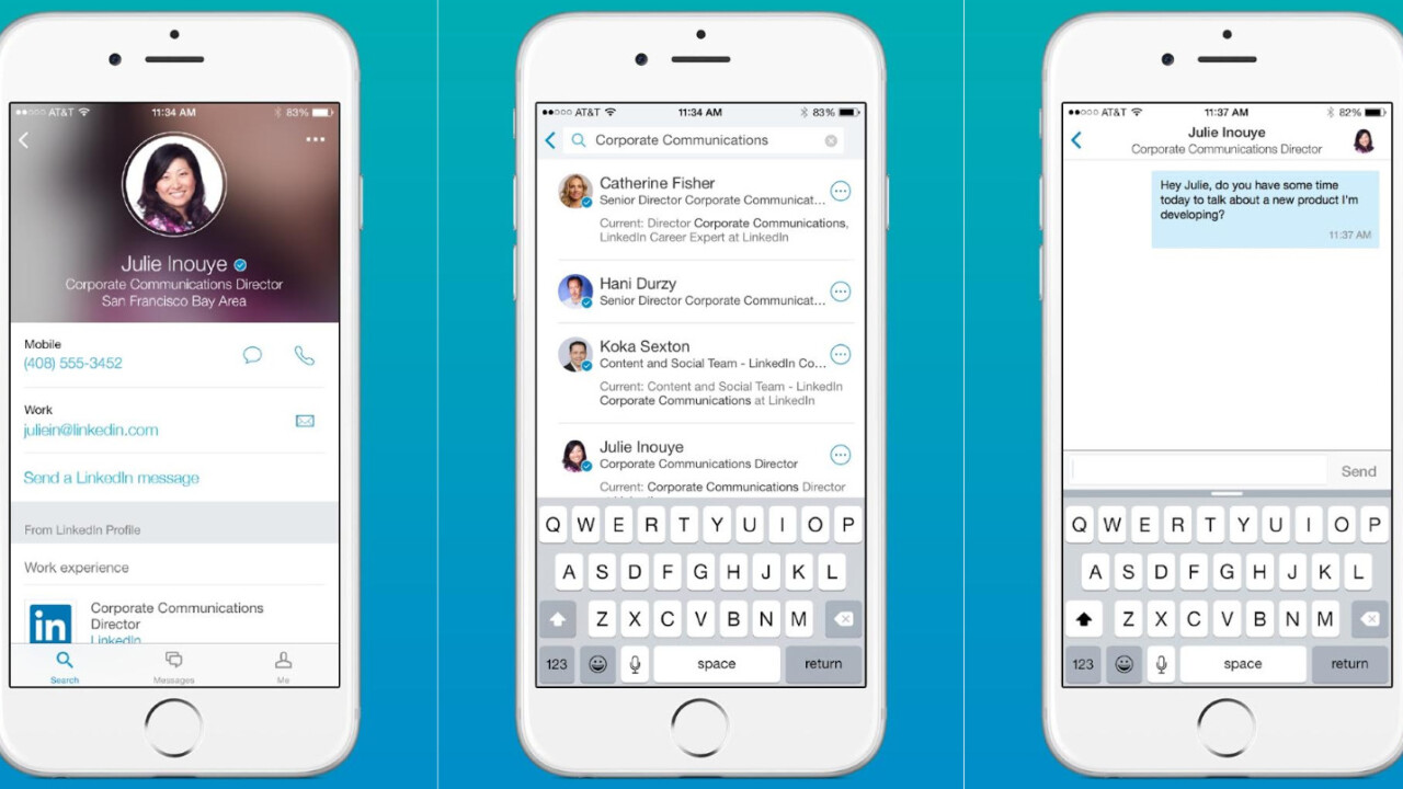 LinkedIn launches Lookup, a standalone app to help you tap your co-workers' skills