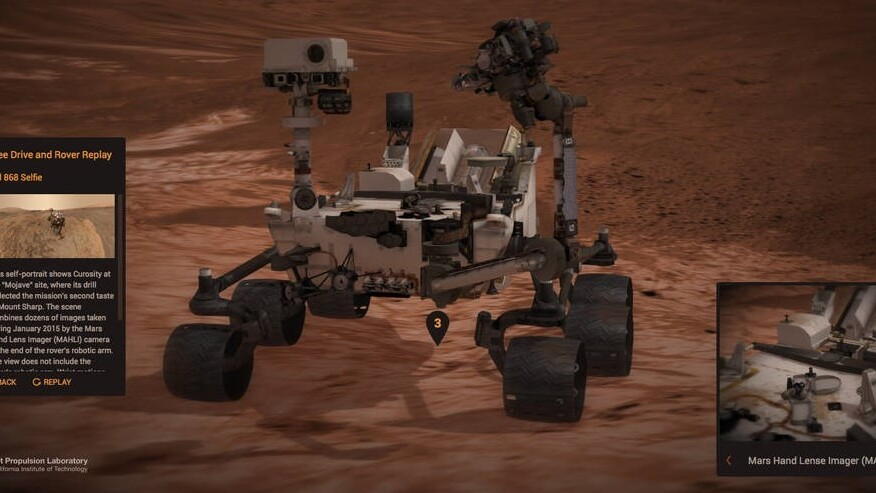 Rove around Mars with the NASA Curiosity Simulator