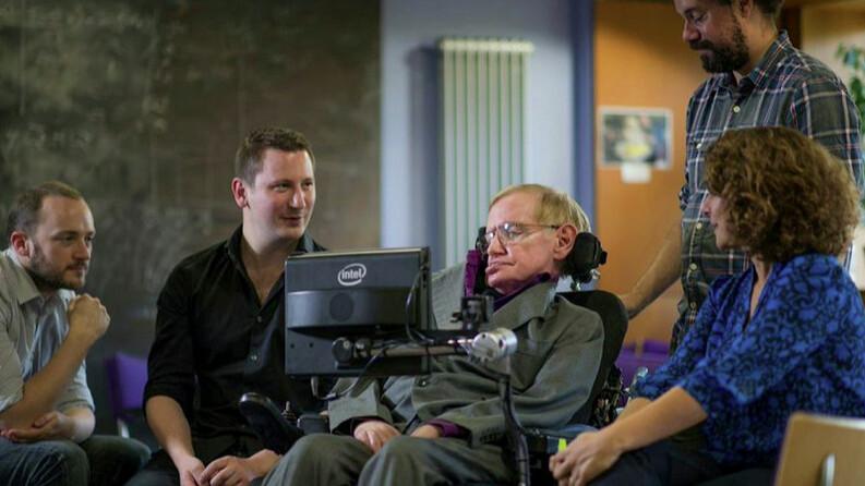 Stephen Hawking's Intel speech system is now open source