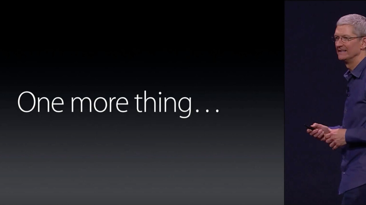 Swatch has trademarked Apple's iconic 'One more thing' catchphrase in an epic troll move