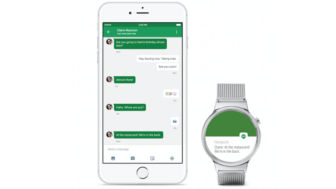 Android Wear is now compatible with the iPhone