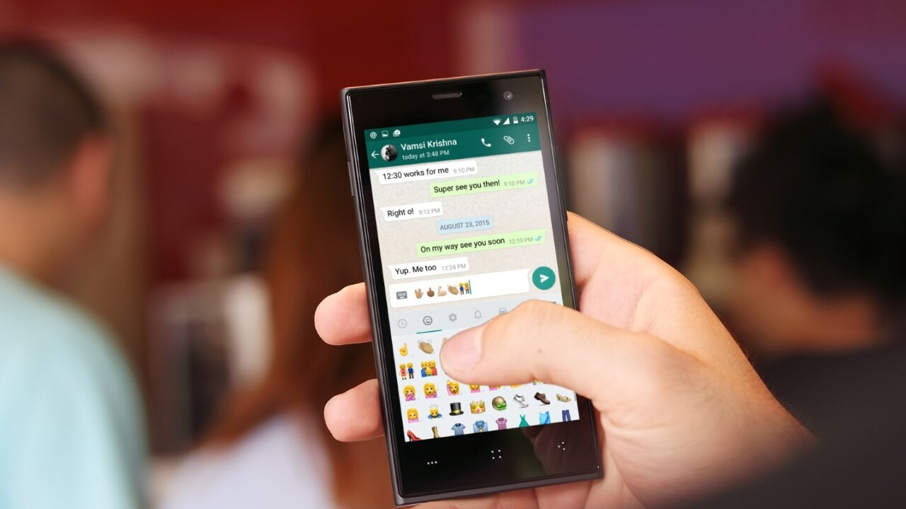 WhatsApp is dropping its annual 99 cent fee