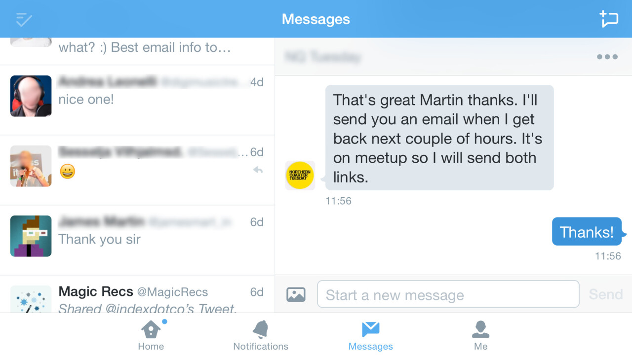 Twitter begins rolling out landscape mode on iPhone 6 Plus