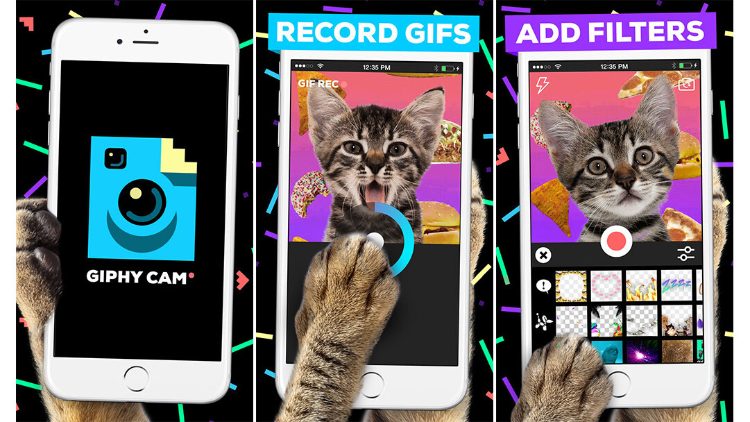Giphy Cam aims to make your crazy impulses easier to capture