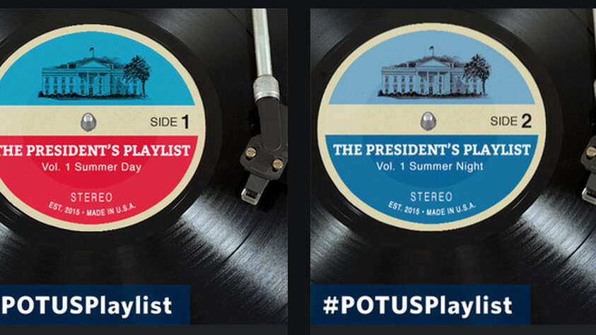 Everyone go home: President Obama has unveiled his Spotify songs of the summer playlist