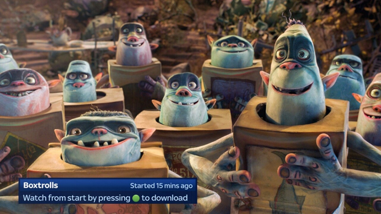 Movie-focused UI update rolling out from today for Sky+ HD subscribers in the UK