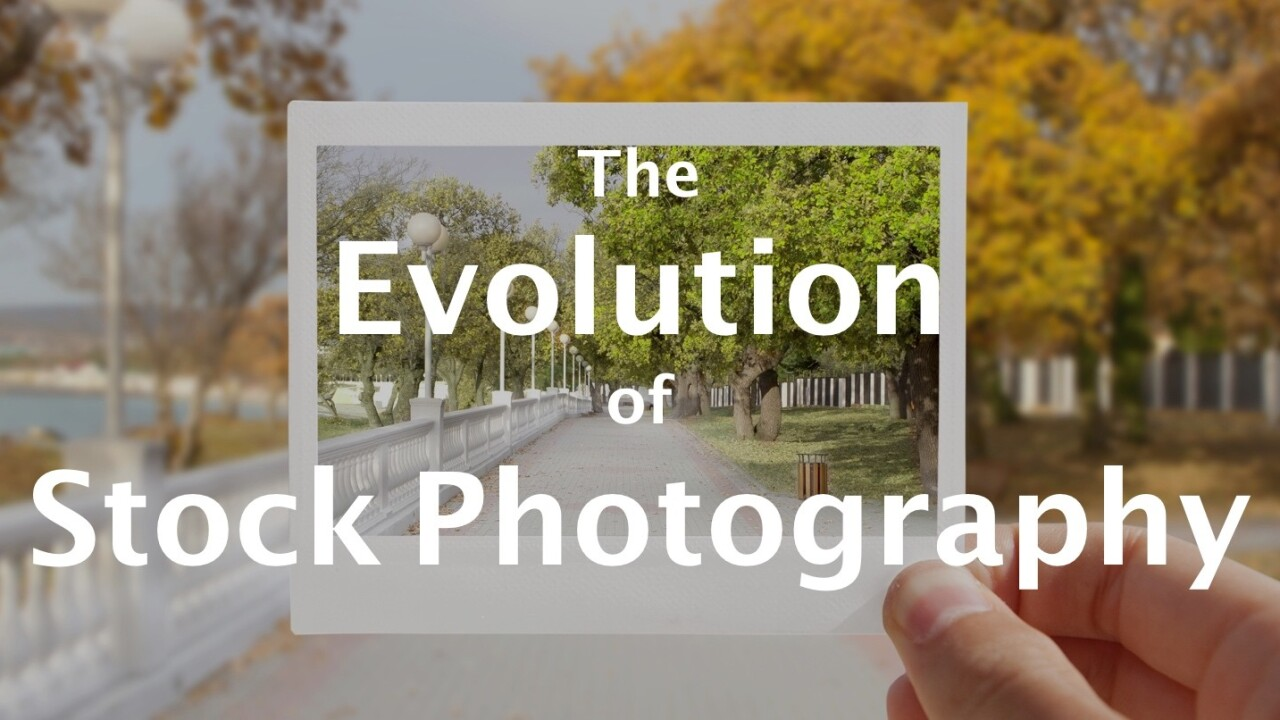 The evolution of stock photography