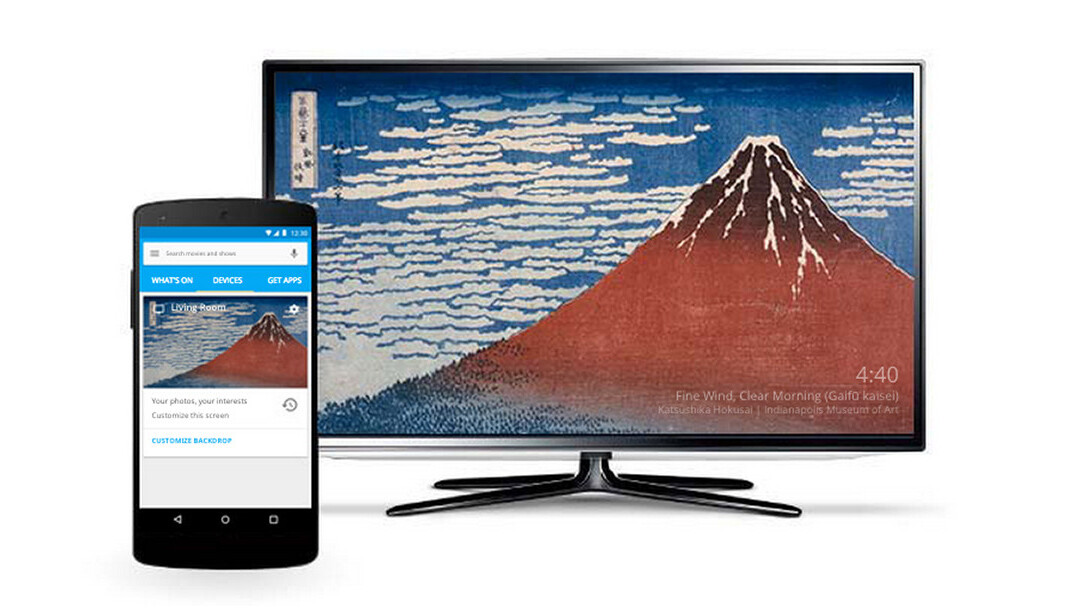 500px teams up with Google to display member photos as Chromecast backgrounds