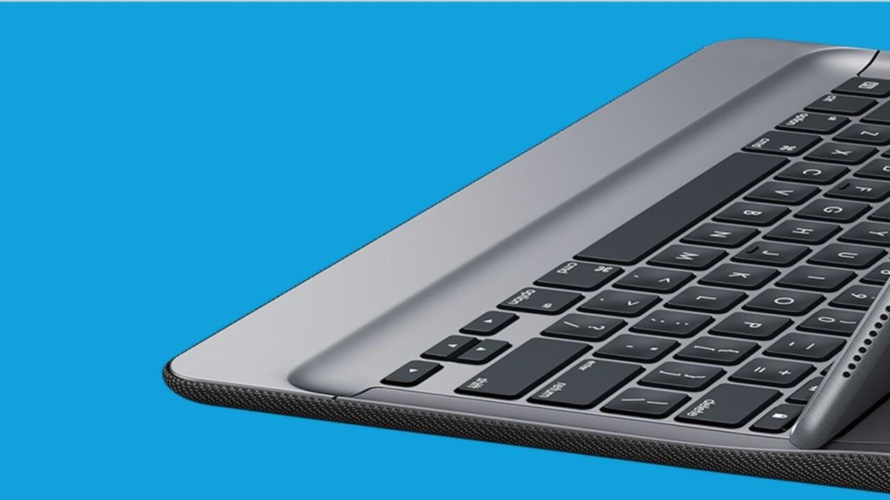 Logitech's iPad Pro keyboard never needs charging