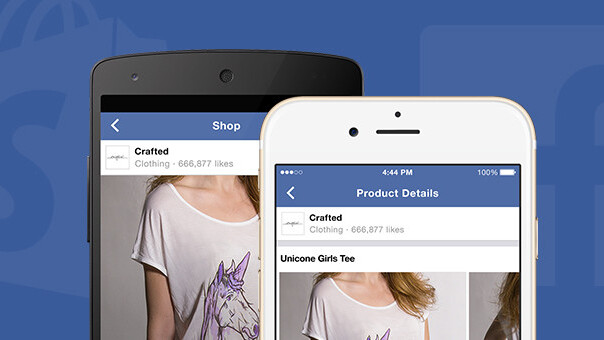 Now you can go shopping on Facebook
