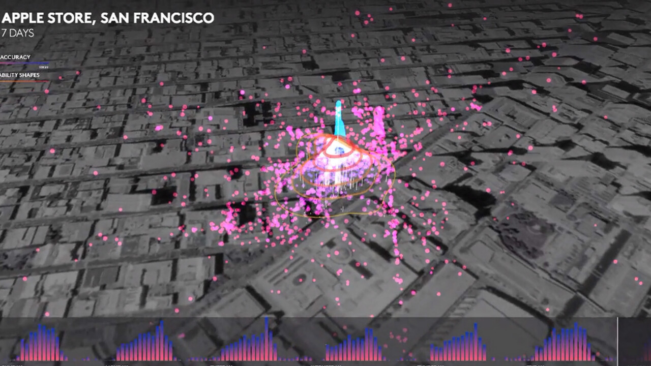 Foursquare uses location data to predict that Apple will sell 13m-15m iPhones this weekend