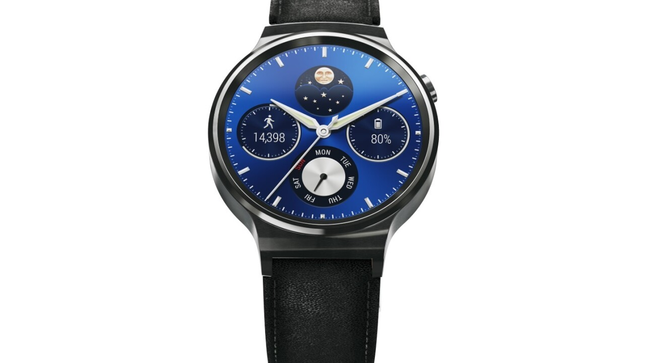 Huawei's first Android Wear watch is up for pre-order now and works with iOS
