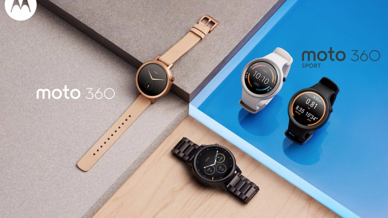 Motorola drops 3 Moto 360 collections: Flat tire's here to stay, so you can just deal with it
