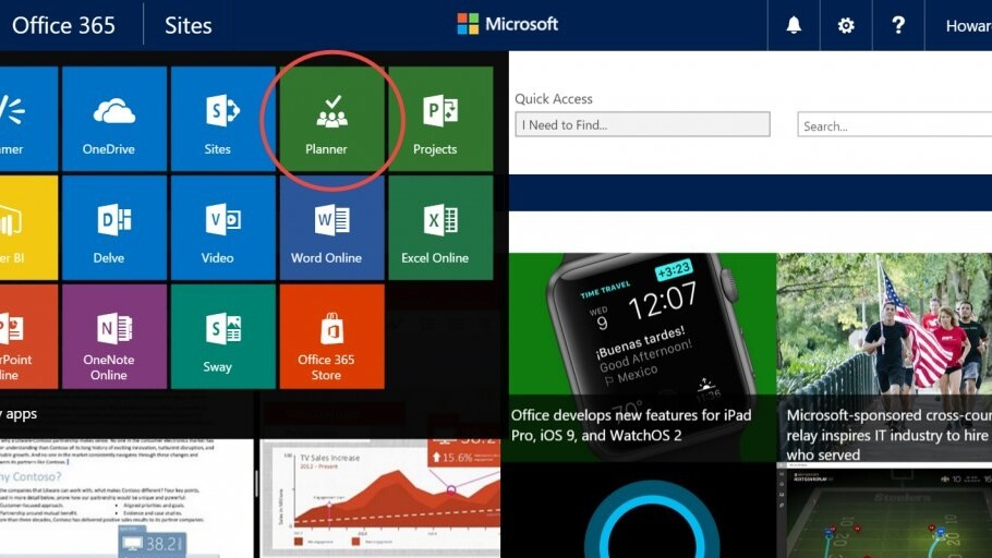 Office 365 introduces a new tool for organizing your team