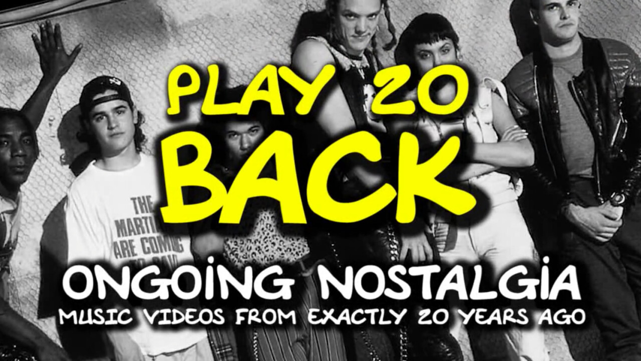 Play20Back surfaces videos from 20 years ago (and all the feels that come with them)