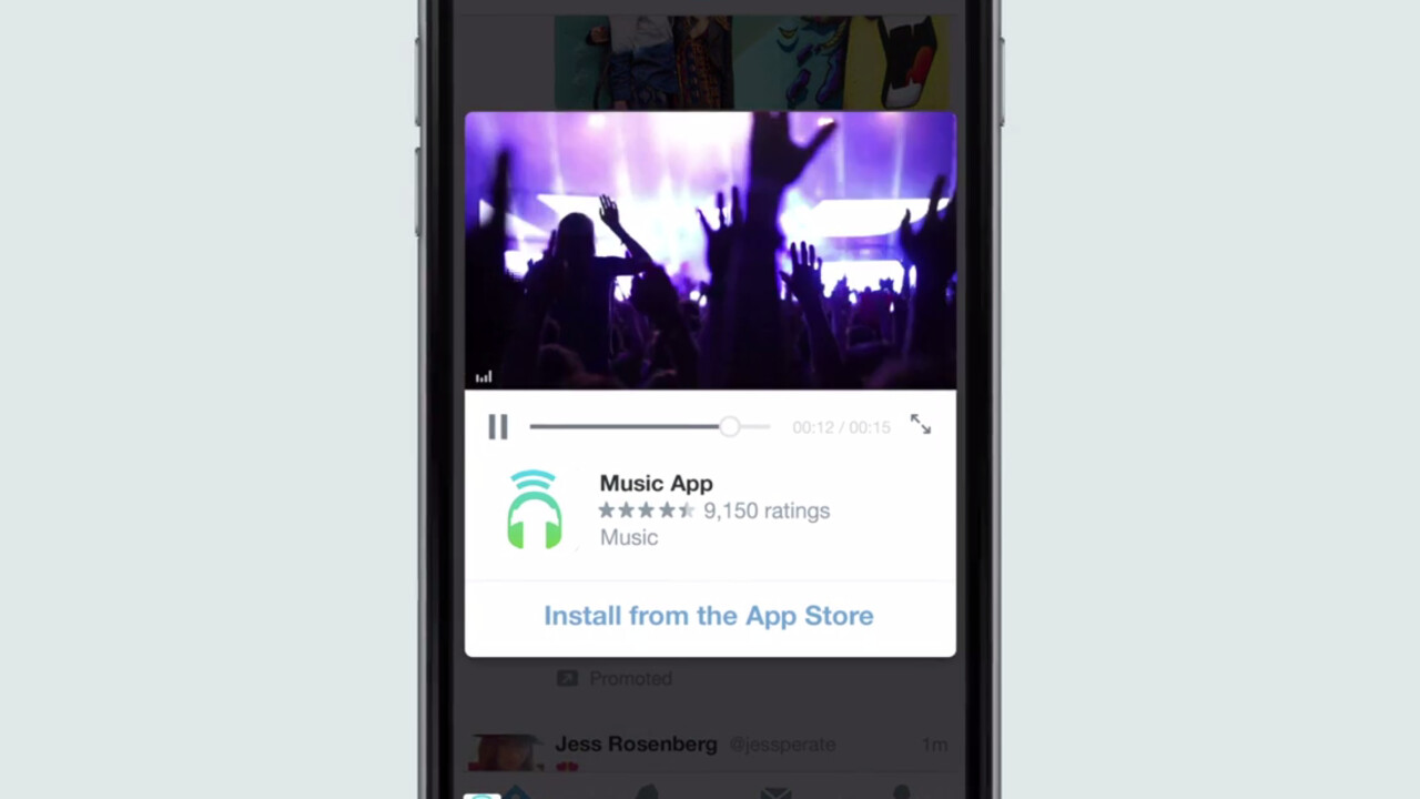Twitter app ads now support autoplay video