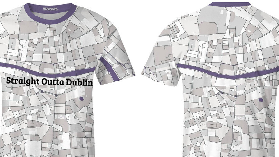 Map On Shirt lets you… oh look, do we *really* need to explain what this is?