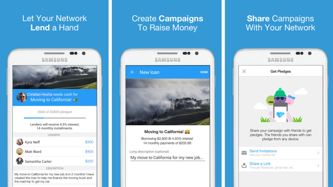 Ledge uses Venmo to make borrowing money and paying it back dead simple