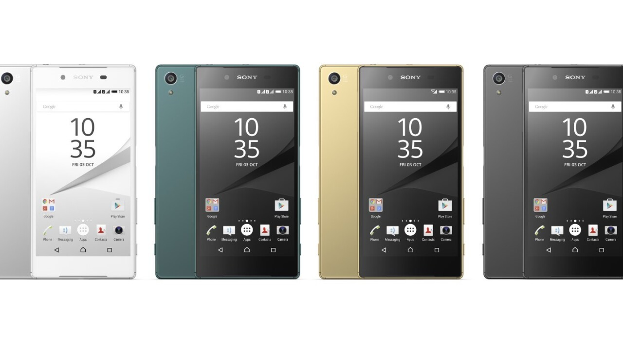 Sony's 4K Xperia Z5 displays most content at 1080p to save power