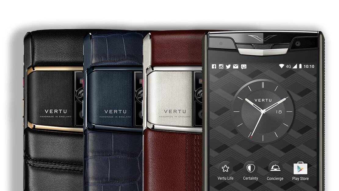 Vertu's new handmade phone costs just $11,000