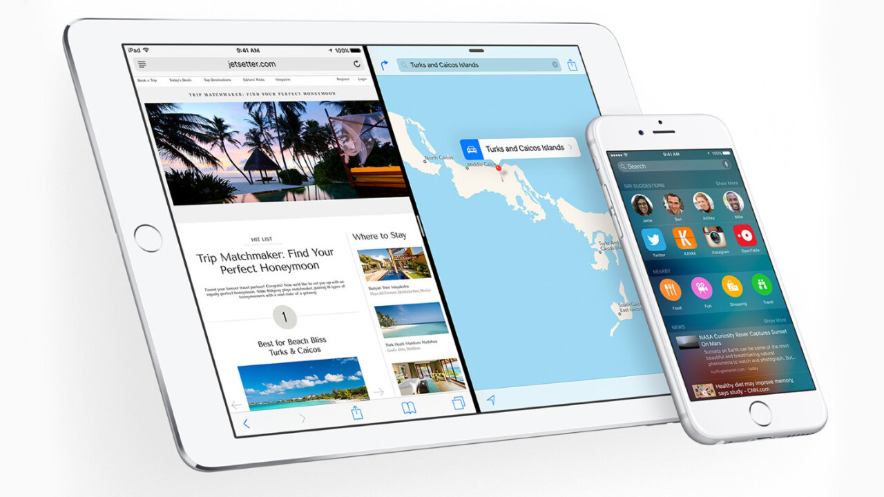 iOS 9 won't let you download slim versions of apps just yet