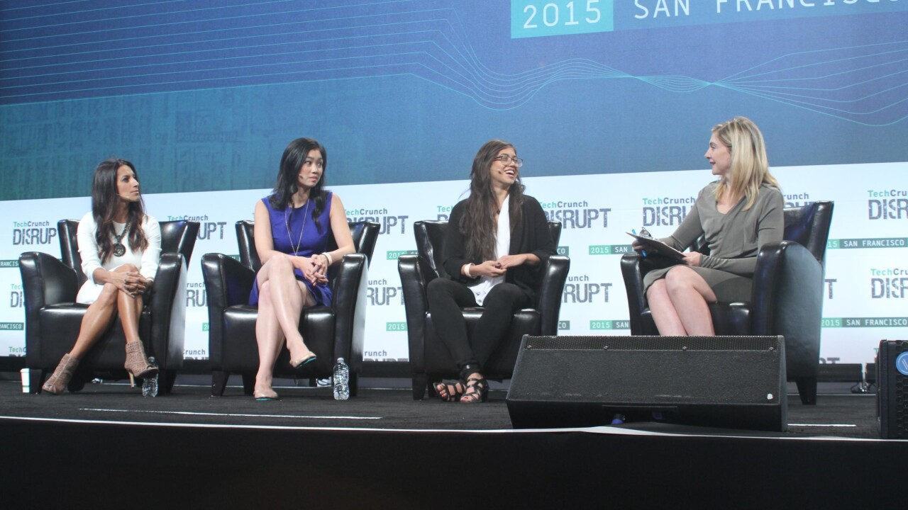 Disrupt's Women in Tech panel shows why diversity is not a zero-sum game
