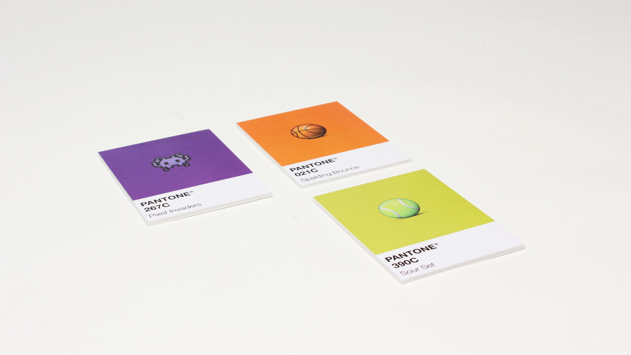 This design project uses emoji to help you remember Pantone colors