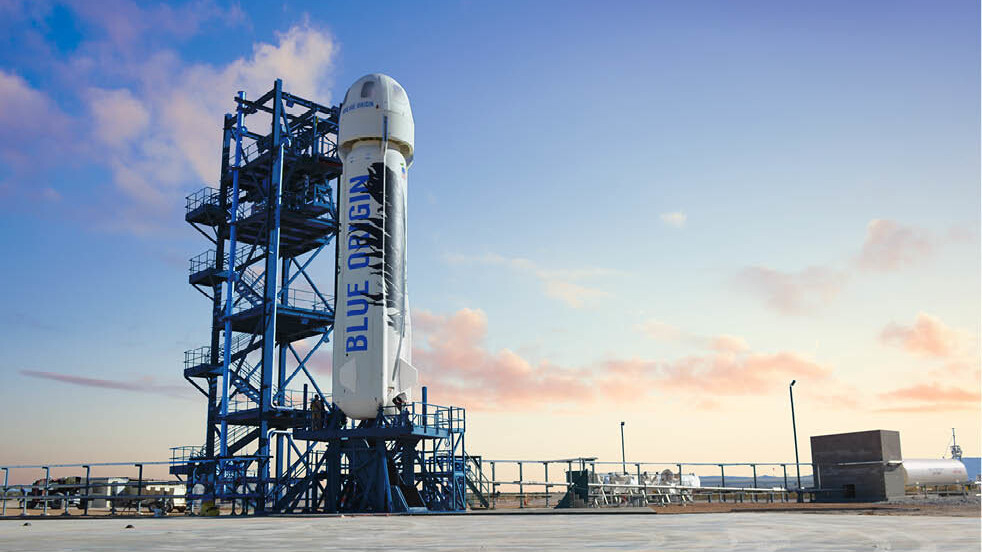 Bezos' Blue Origins lands at Cape Canaveral before taking us to space 'later this decade'