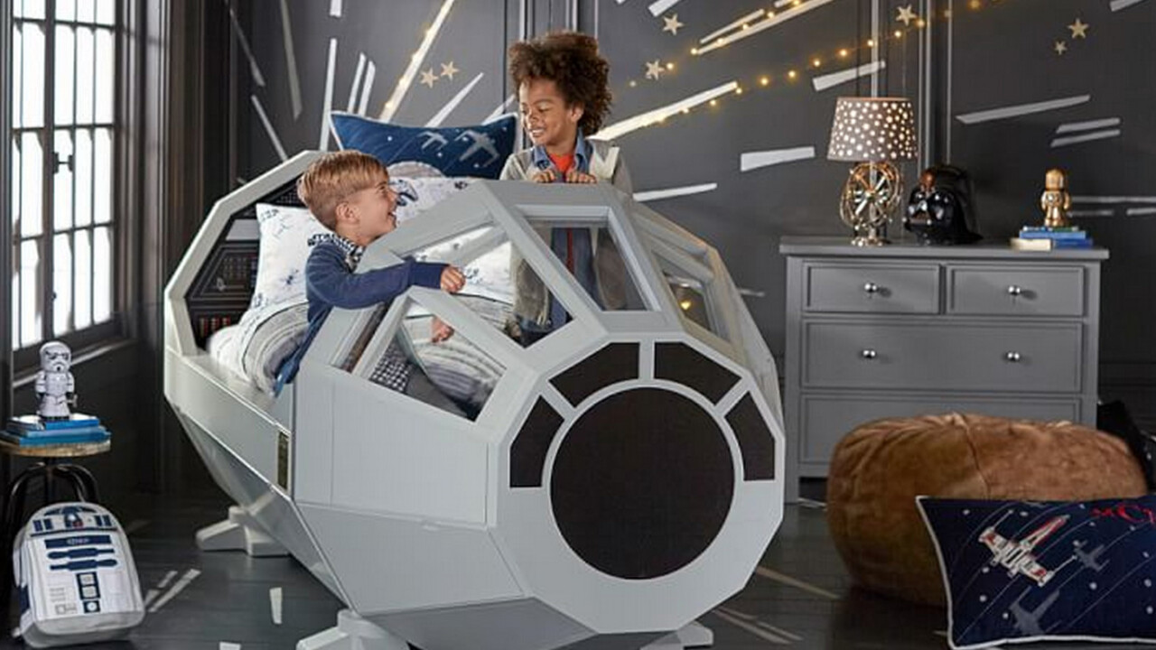 Pottery Barn just ruined Force Friday with this $4K Millennium Falcon children's bed
