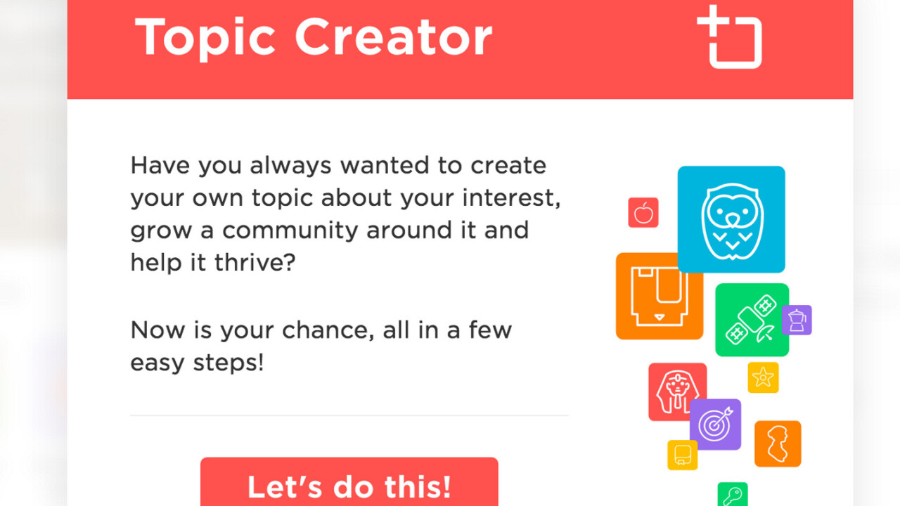 QuizUp launches tools for creating your own trivia categories and questions
