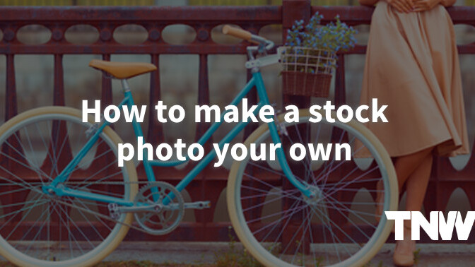 Making a stock photo your own