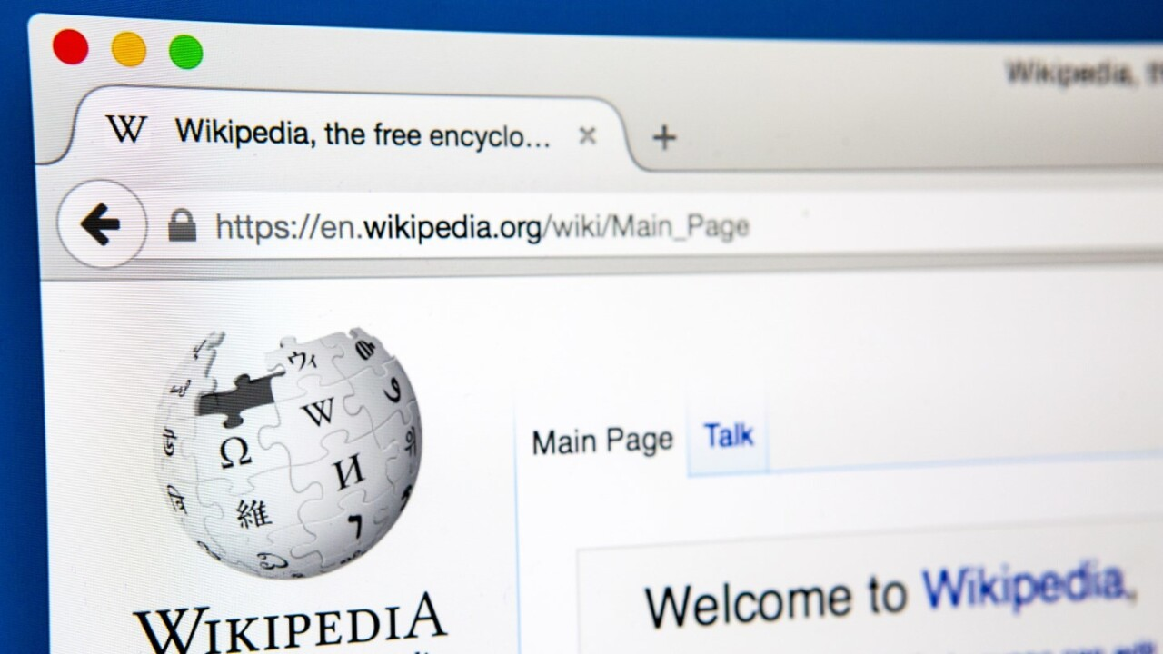 Wikipedia editor complains that the site doesn't get enough media attention