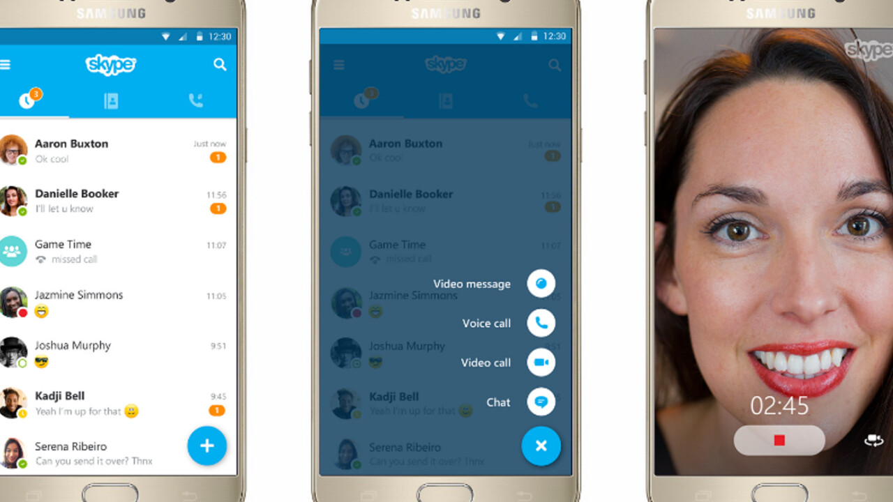 Skype overhauled on iOS and Android with better navigation, search and swipe gestures