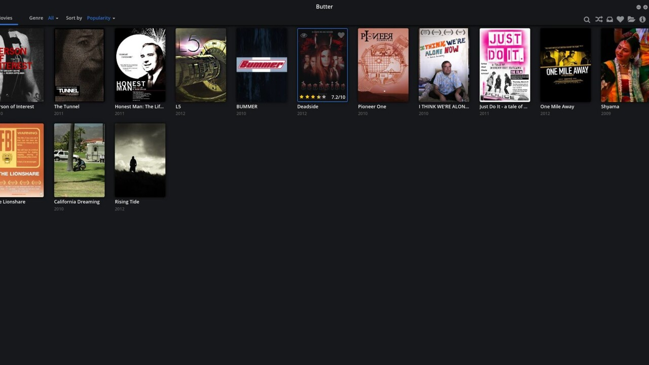 Popcorn Time creators back away from copyrighted content with 'Project Butter'