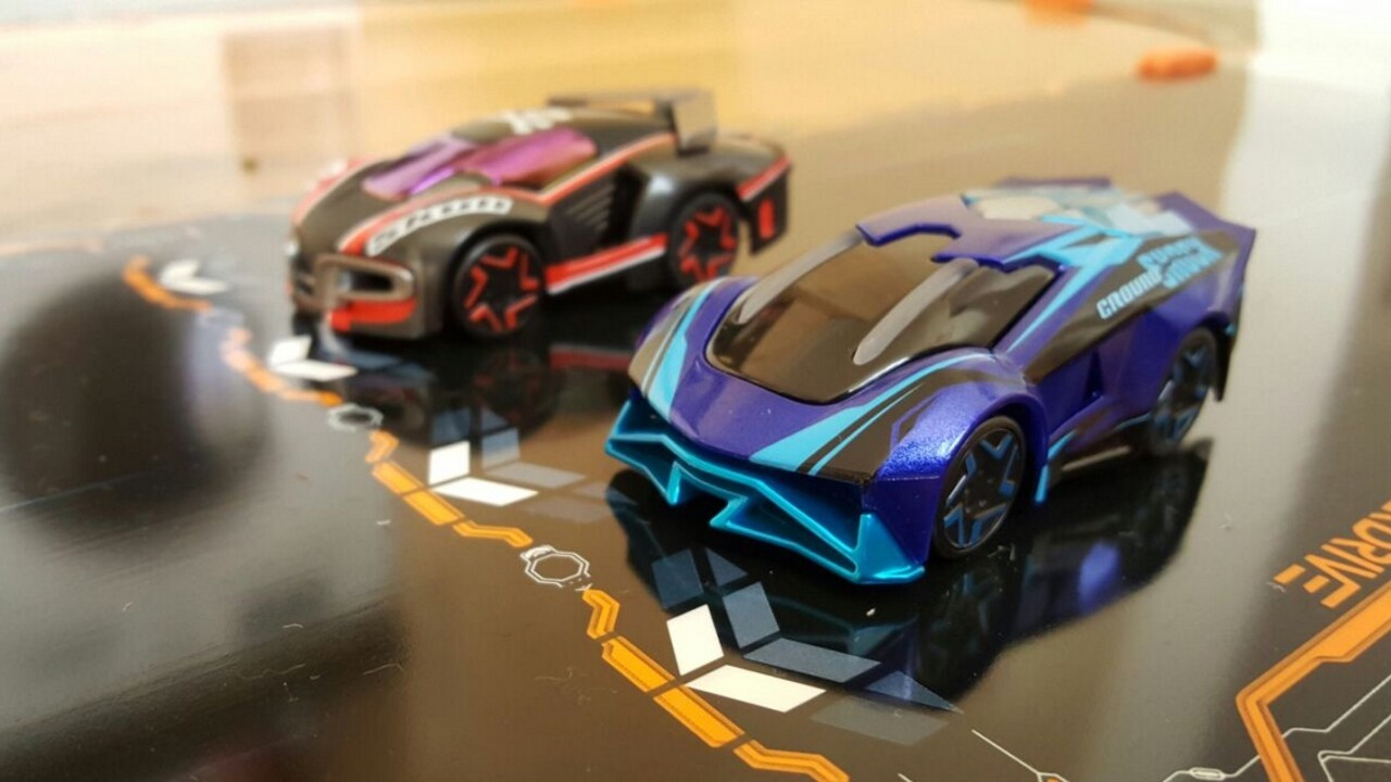 Anki's new robot car racing game totally blew me away by bridging the digital and real world
