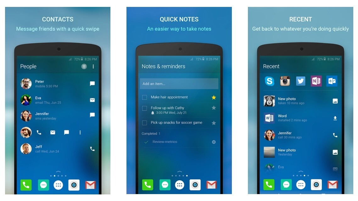 Microsoft's Arrow launcher for Android is now available