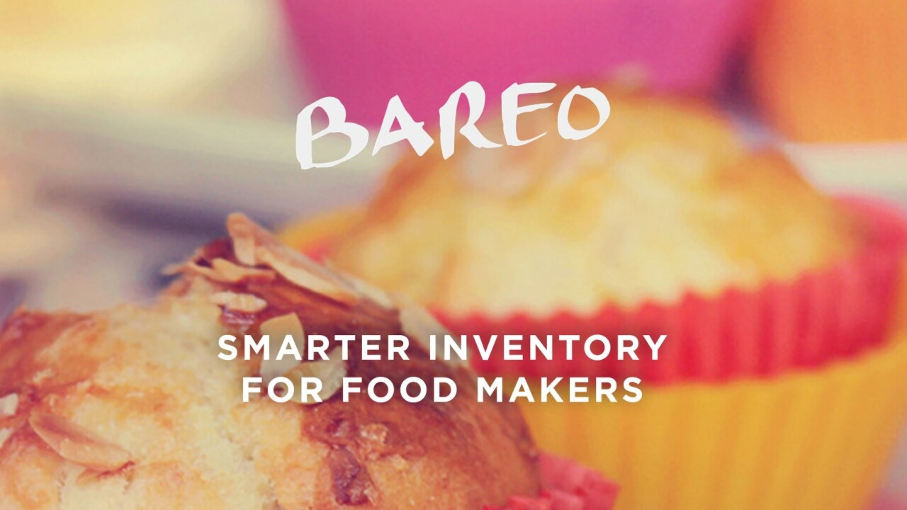 Bareo makes it easy to log and manage your food pantry