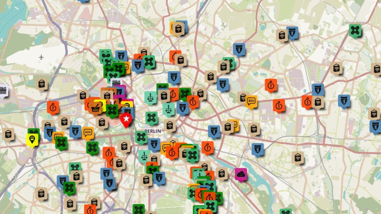 Refugees in Berlin create online map of essential resources for new arrivals