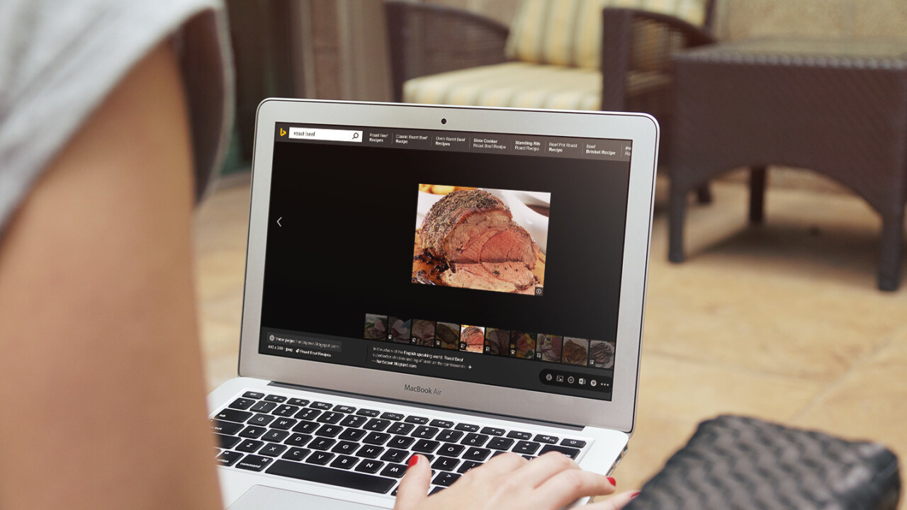 Bing's image search is now the ultimate cookbook