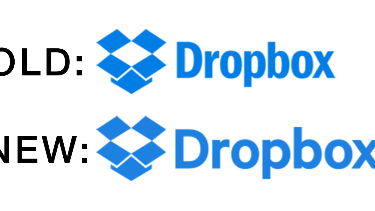 Dropbox changed its logo and nobody noticed