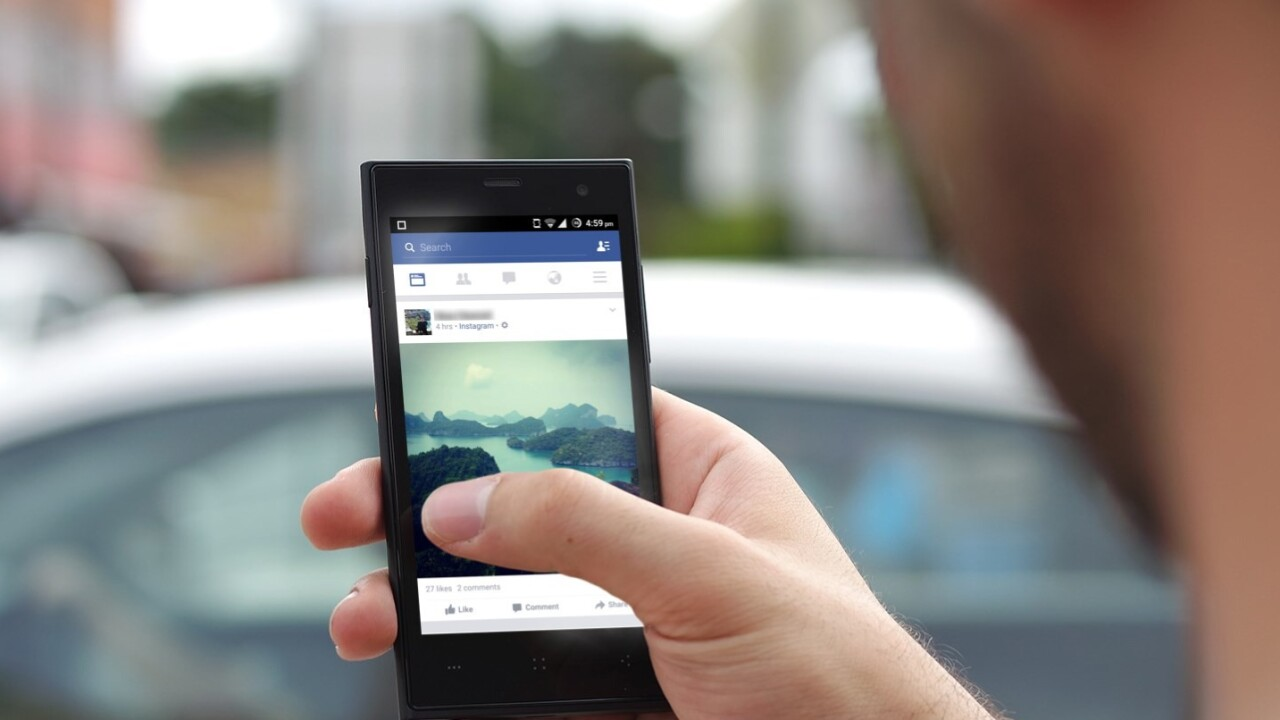 Facebook's Android app will now load your News Feed quicker on slow connections