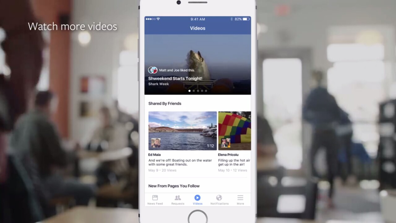Facebook is testing a video-only tab to take on YouTube