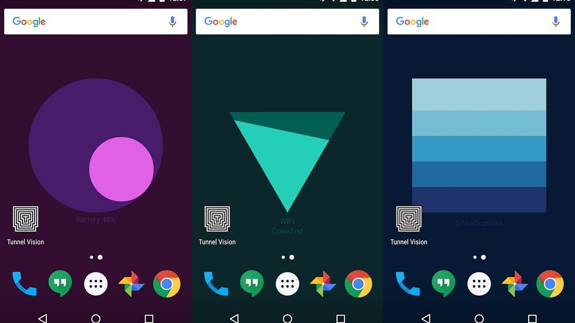 Google's new Meter app for Android turns your wallpaper into a live widget